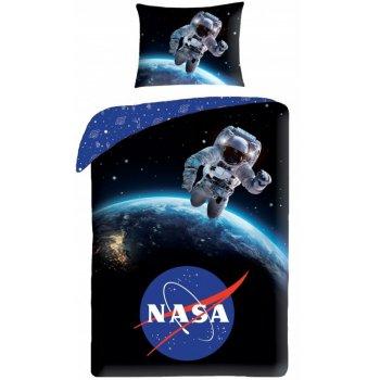 Bavlnené posteľné obliečky NASA - Výlet do kozmu