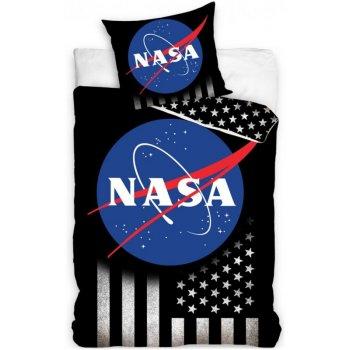 Bavlnené posteľné obliečky NASA - hviezdy a pruhy