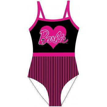 Dievčenské jednodielne plavky Barbie sa srdiečkom