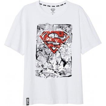 Pánske tričko Superman - biele