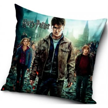 Povlak na vankúš Harry Potter, Hermiona a Ron