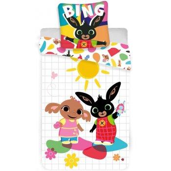 Obliečky do detskej postieľky Zajačik Bing, Sula a slniečko
