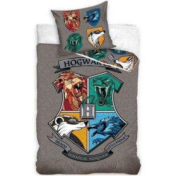 Bavlnené posteľné obliečky Harry Potter - Rokfortská stredná škola čarodejnícka