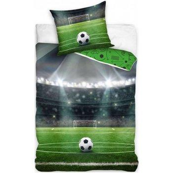 Bavlnené posteľné obliečky Futbalové ihrisko
