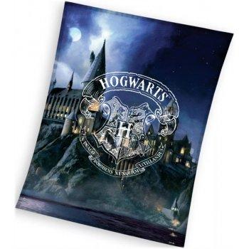 Veľká fleecová deka Harry Potter - Rokfortská stredná škola čarodejnícka