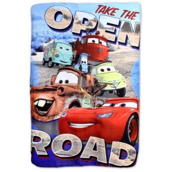 Fleecová deka Auta - Cars - McQueen