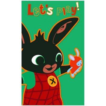 Detský uterák Zajačik Bing - Let's Play!