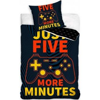 Bavlnené posteľné obliečky pre hráčov - Ešte päť minút