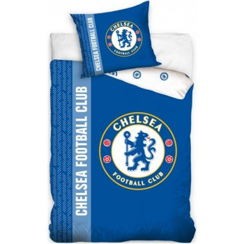 Bavlnené posteľné obliečky Chelsea City FC - cez deň