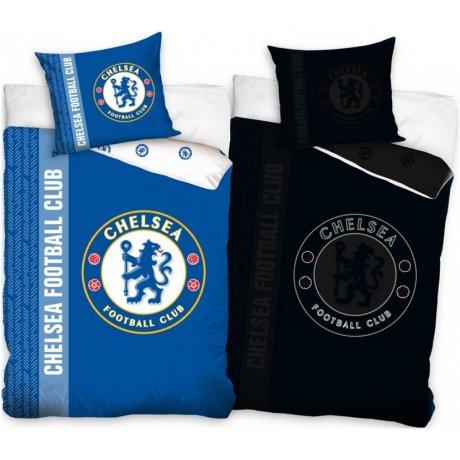 Bavlnené posteľné obliečky Chelsea City FC - so svietiacim efektom