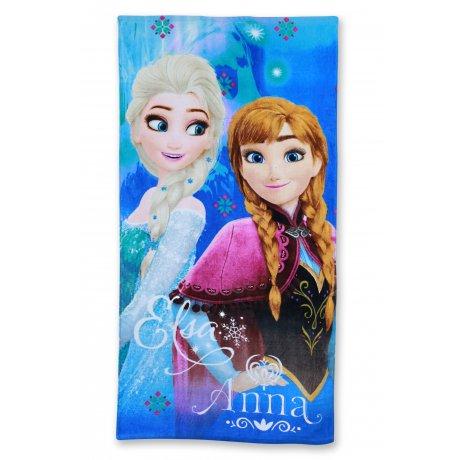 Plážová osuška Ľadové kráľovstvo - Anna a Elsa