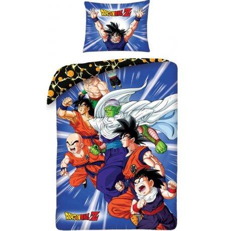 Bavlnené posteľné obliečky Dragon Ball