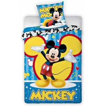Bavlnené posteľné obliečky Mickey Mouse - Disney