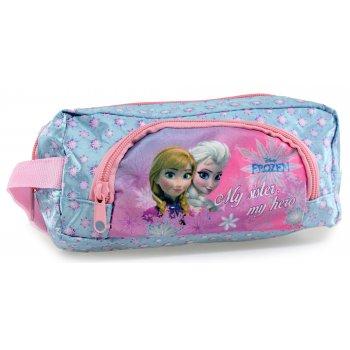 Puzdro na ceruzky Ľadové kráľovstvo - Anna a Elsa