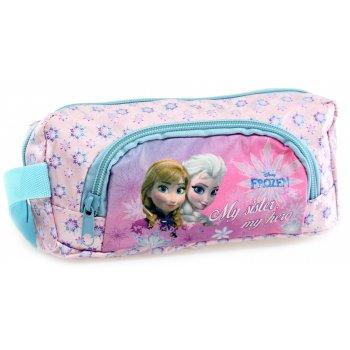 Puzdro na ceruzky Ľadové kráľovstvo - Elsa a Anna